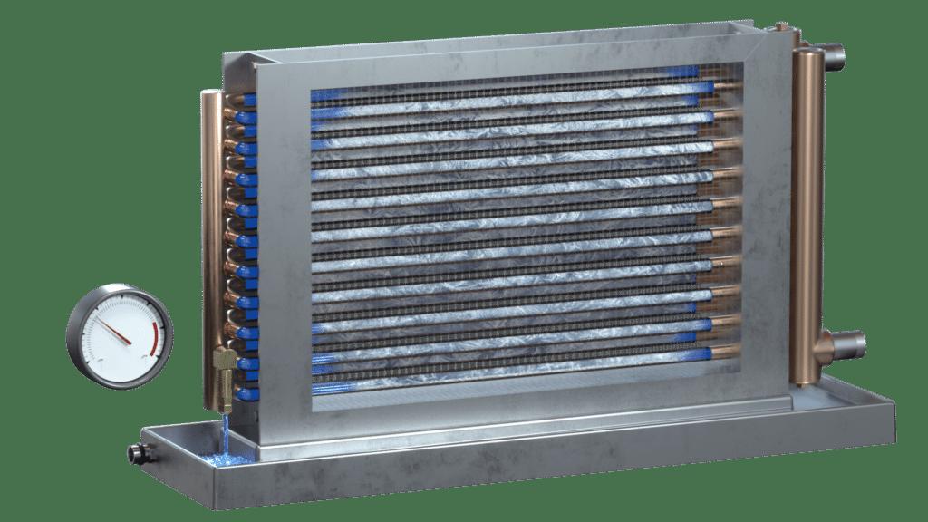 Freeze Block HVAC Coil