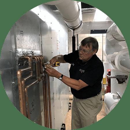 hvac coil replacement measurement