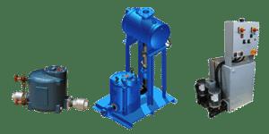 steam pressure motive condensate electric pumps