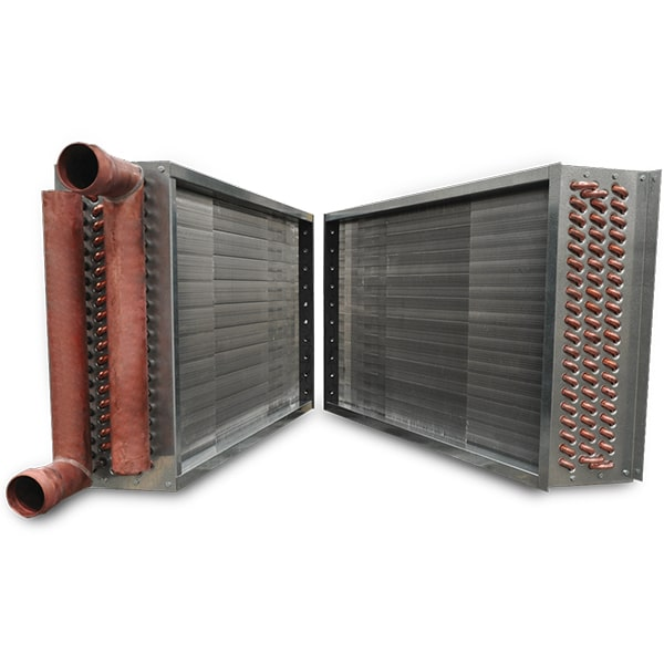sectional hvac coil